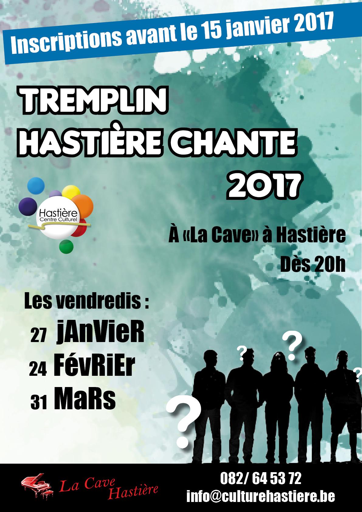 Tremplin Hastière Chante @ La Cave à Hastière | Hastière | Wallonie | Belgique