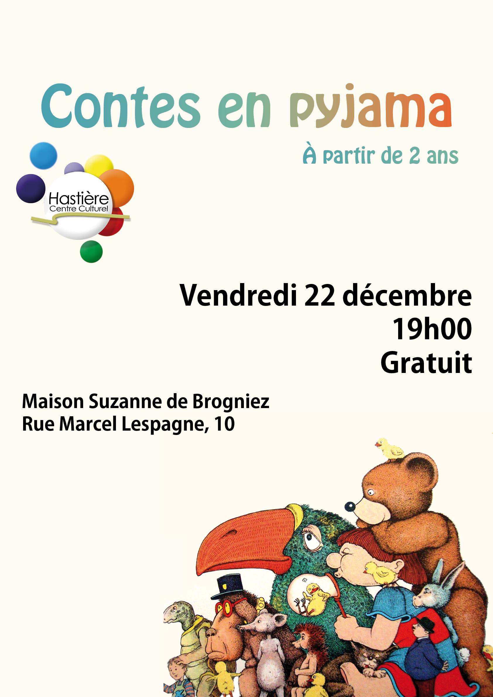 Contes en pyjama @ Centre culturel  | Hastière | Wallonie | Belgique